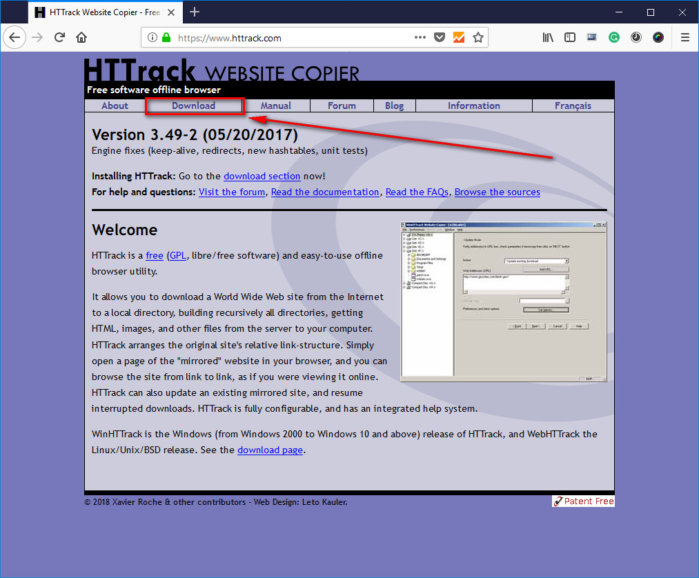 Httrack Without Mirror Error Problem